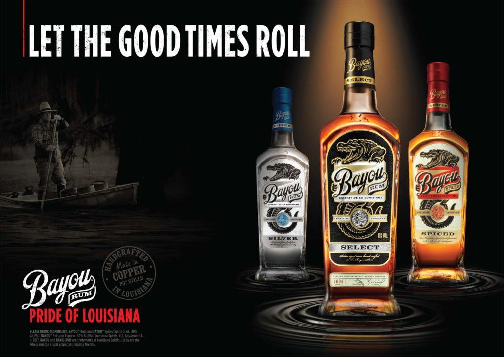 Bayou Rum advert