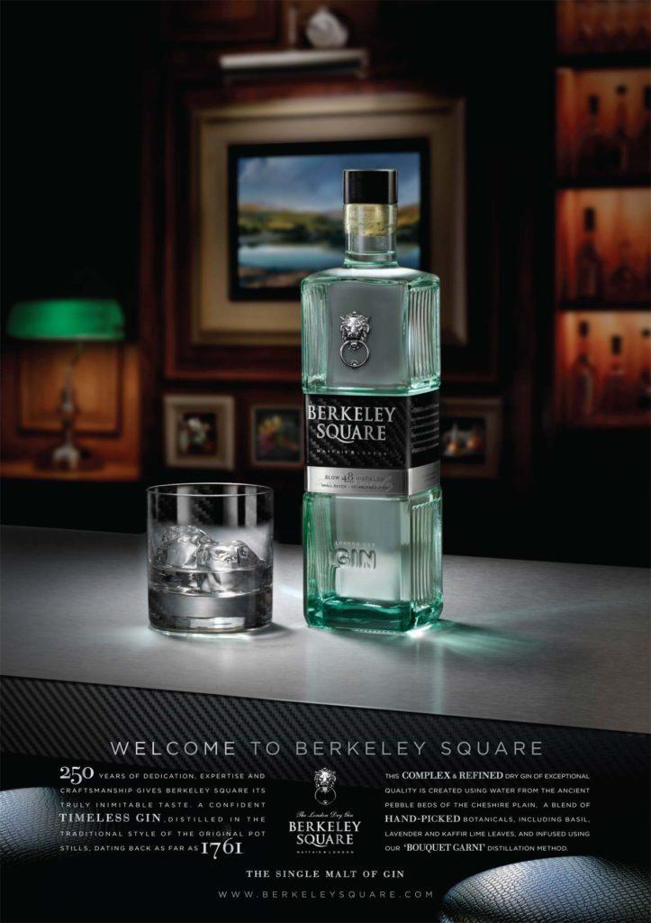 Berkley Square Gin advert