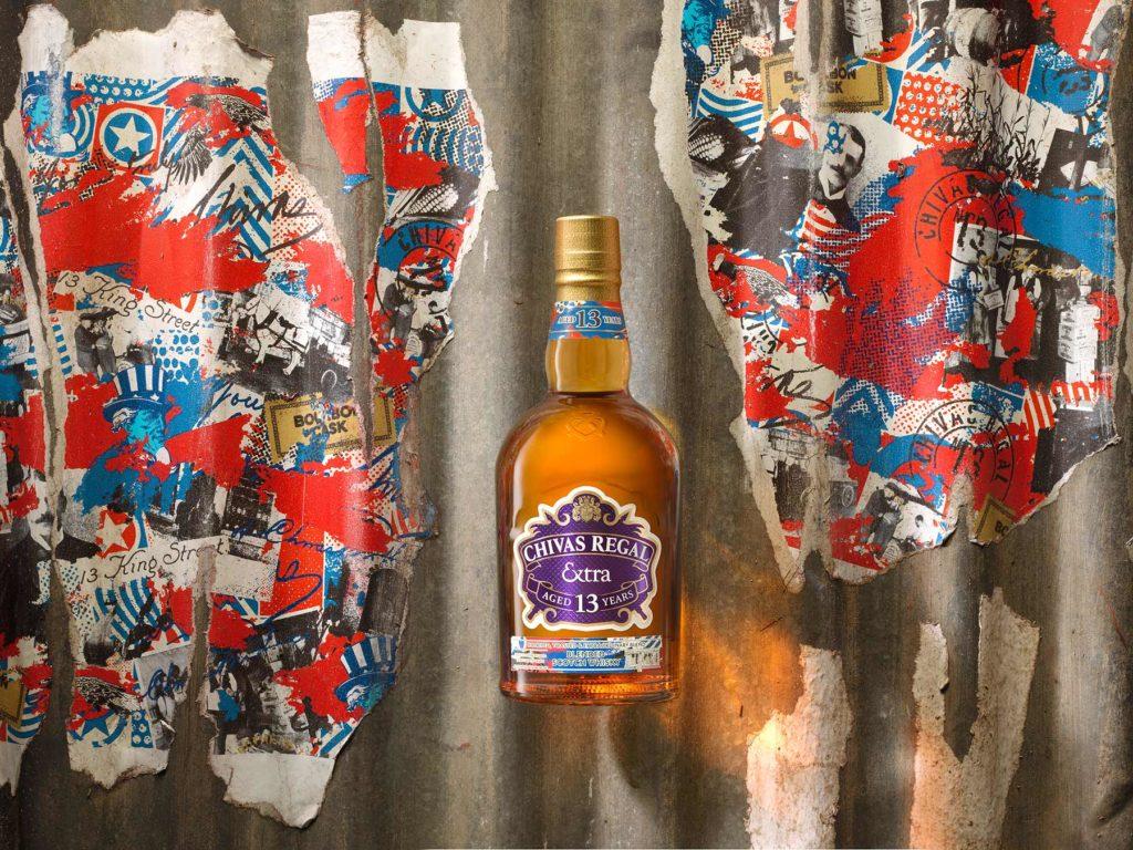 Chivas Regal Extra 13 Bourbon bottle