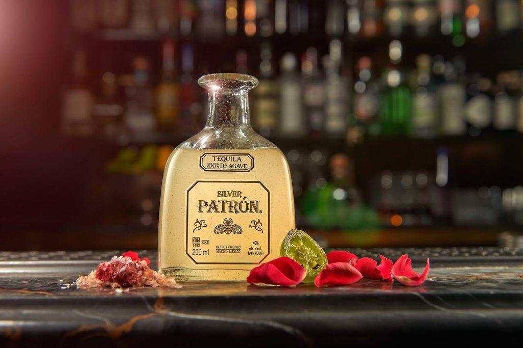 Patron Rose Petal Margarita