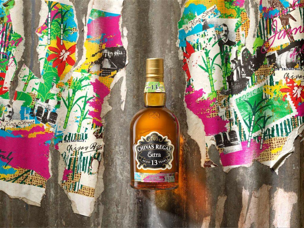 Chivas Regal Extra 13 Rum Bottle