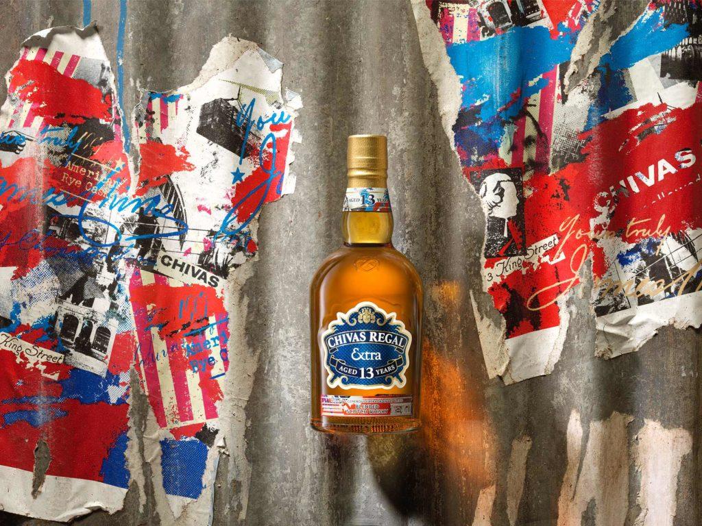 Chivas Regal Extra 13 Rye Bottle