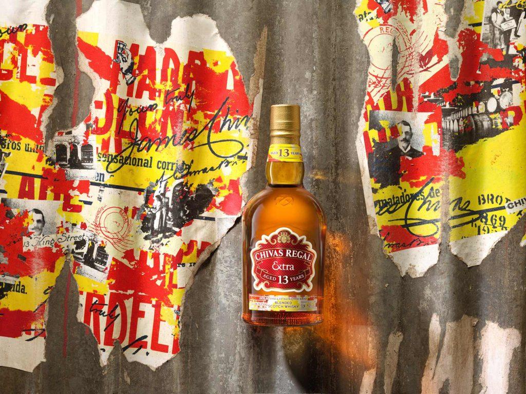 Chivas Regal Extra 13 Sherry bottle