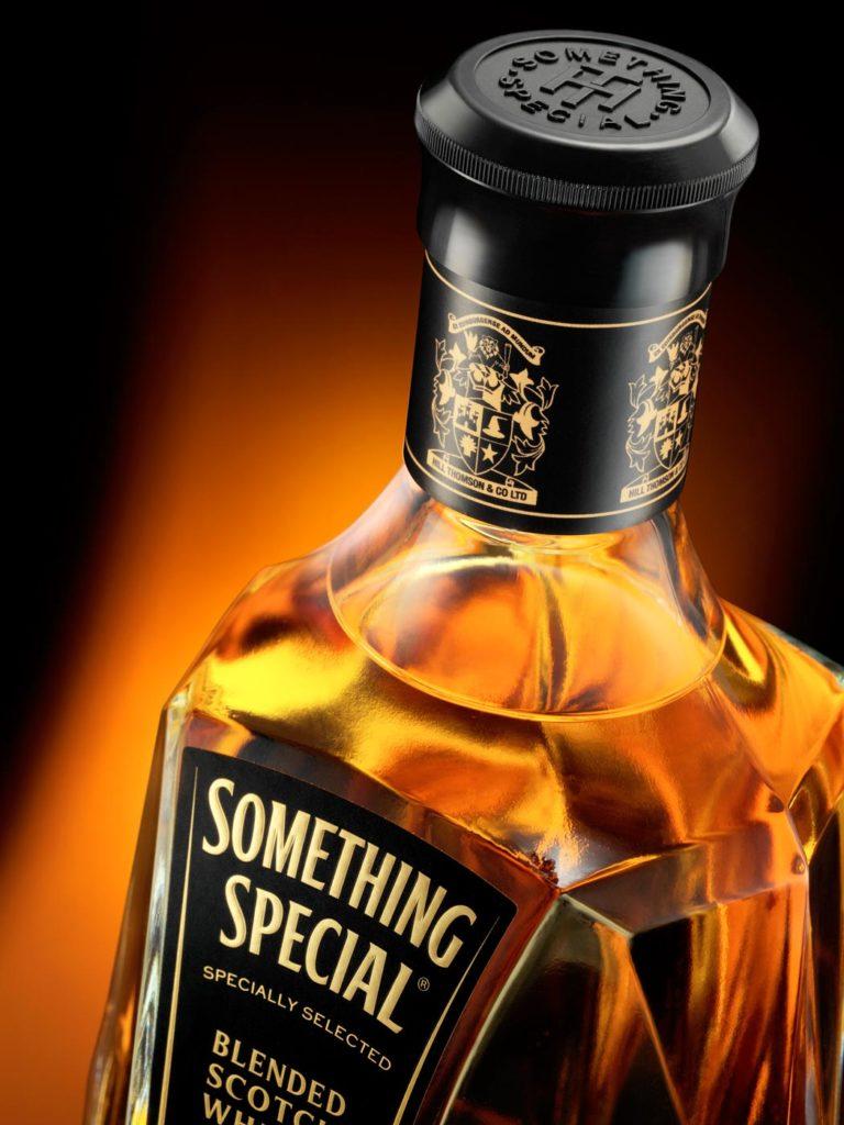 Something Special bottle detail