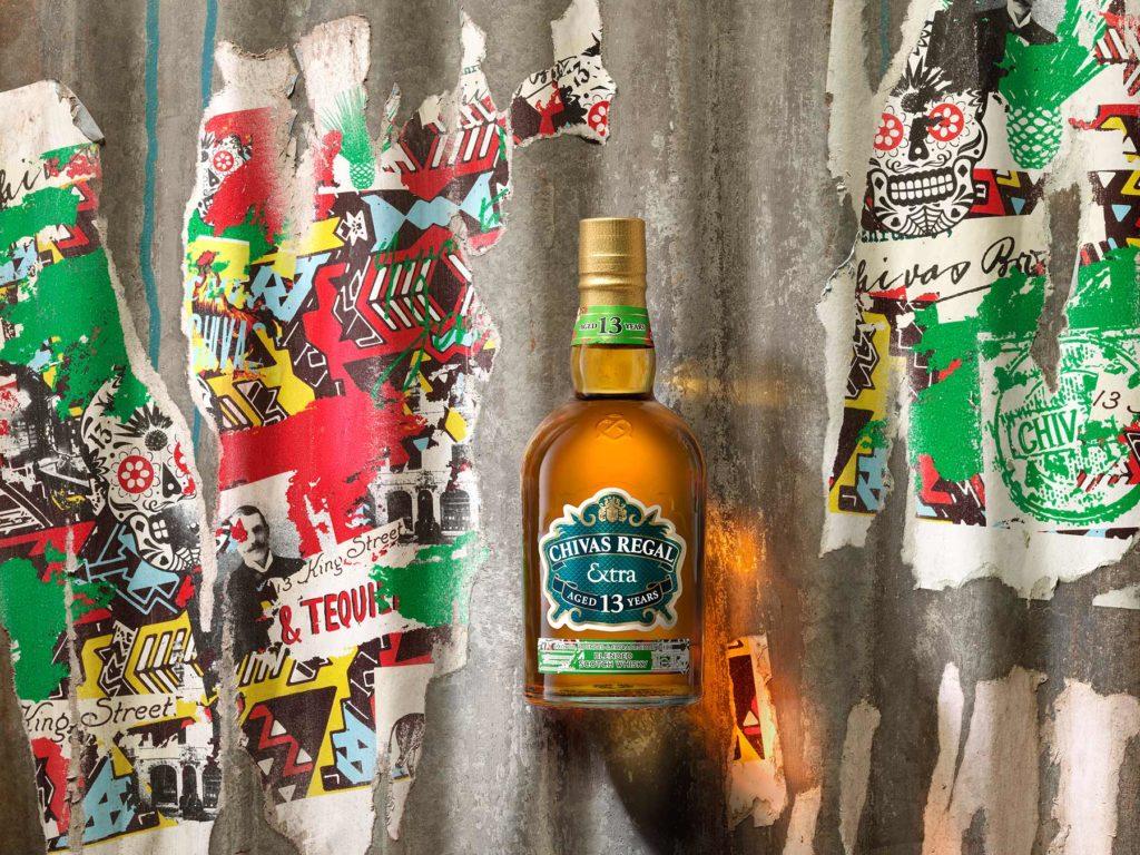Chivas Regal Extra 13 Tequila bottle