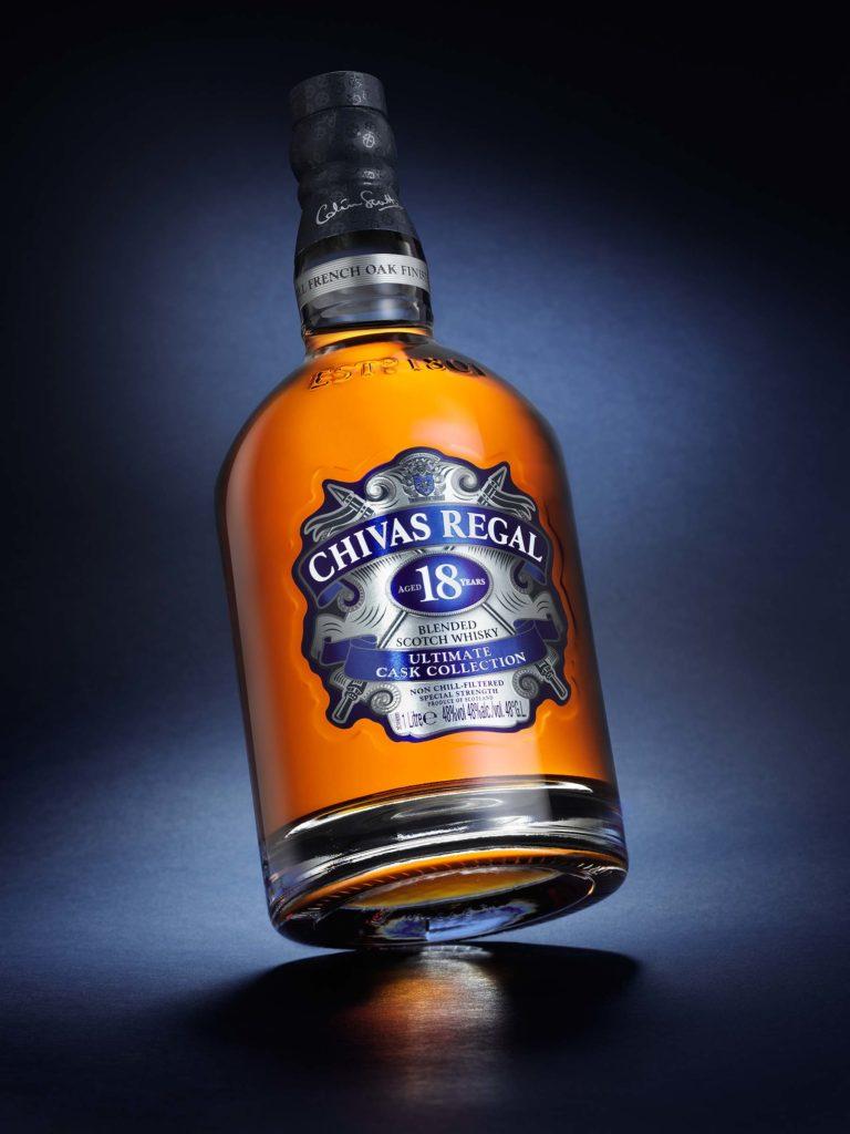 Chivas Regal 18 bottle Ultimate Cask collection